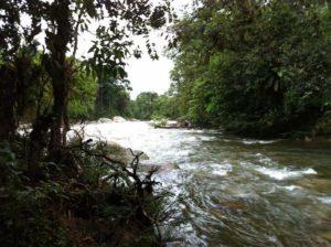 Auf dem Weg nach Amazanga