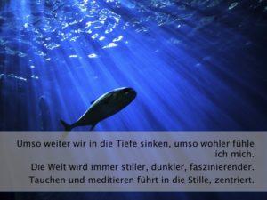 Fisch mit Sonnenlicht